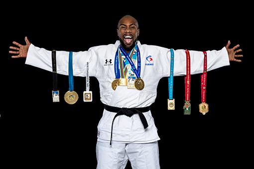 Les médailles de Teddy Riner